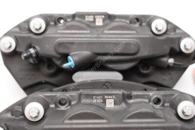 Front Porsche Macan 95B615123F 95B615124F Brembo 4pot Calipers Bulk NEW
