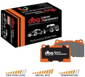 Front Range Rover Sport DBA Xtreme Performance Brake Pads DB2204XP
