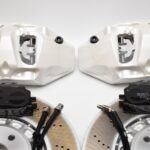 Front Audi Rsq3 F3 Brake Kit Akebono 6pot Oryx White 374x36mm New- 12
