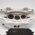 Front Audi Rsq3 F3 Brake Kit Akebono 6pot Oryx White 374x36mm New- 7