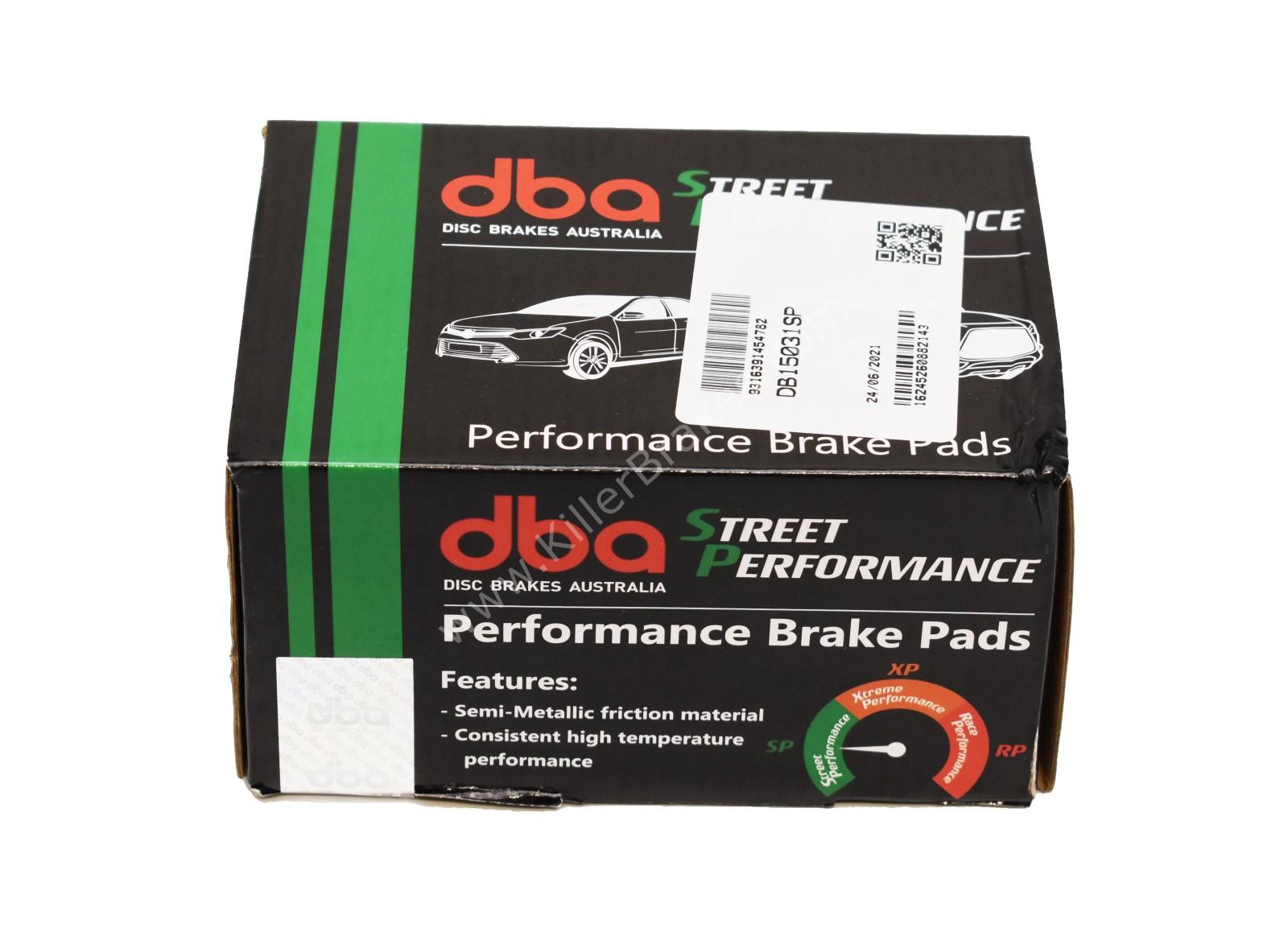 Rear DB15031SP DBA Street Performance Brake Pads Audi Q7 SQ7 Q8 4M E-tron