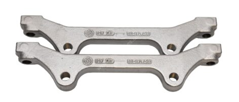 Audi S6 S7 4G C7 Caliper Adapter Brackets 6pots OEM Brembo 20.9747.51 400mm Brake discs