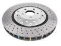 Front Audi Rs3 8v Sedan Brake Discs DBA 53004SLVXD 370x34mm 5000 series Fully Assembled 2-Piece Clear Anodised T3