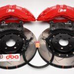 Front Brembo 6pot Brake Kit Dba 2-piece Brake Discs 380x36mm 52774BLKS 4KE615107B 4KE615108B- 13