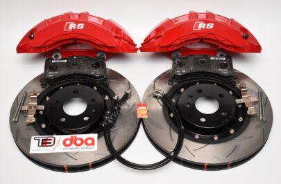 Front Brembo 6pot Brake Kit Dba 2-piece Brake Discs 380x36mm 52774BLKS 4KE615107B 4KE615108B