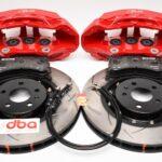 Front Brembo 6pot Brake Kit Dba 2-piece Brake Discs 380x36mm 52774BLKS 4KE615107B 4KE615108B- 9