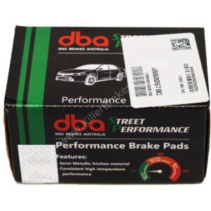 Rear DB15009SP Street Performance DBA Brake Pads Audi A1 S1 8X Octavia 5E Leon 5F