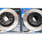 Rear DBA 2814S Brake Discs 272x10mm Street Series T2 Slotted New- 1