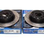 Rear DBA 2814S Brake Discs 272x10mm Street Series T2 Slotted New- 4
