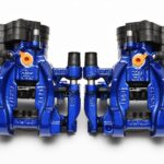 Rear Golf 7 R Audi S3 8v 310mm Calipers Lapiz Blue upgrade for Gti A3 NEW- 3