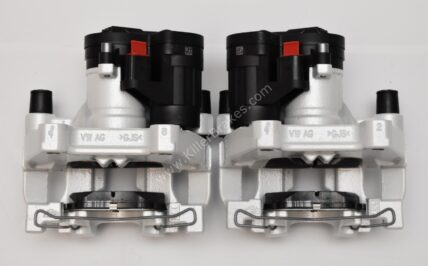 Rear Golf 7 R Audi S3 8v 310mm Calipers Oryx White upgrade for Gti A3 NEW
