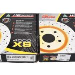 Front DBA 42830WSLVXD Wave Brake Discs 340x30mm 4000 series T3 Slotted New- 1