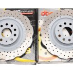 Front DBA 42830WSLVXD Wave Brake Discs 340x30mm 4000 series T3 Slotted New- 2