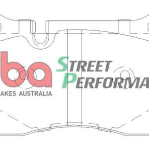 Front TTRS 8J Audi RS3 8P Brake Pads DBA DB2228SP Street Performance